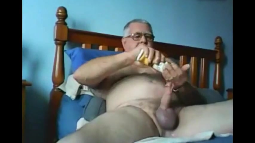 Grandpa cum on cam 9 Girl puts tits in wine glass