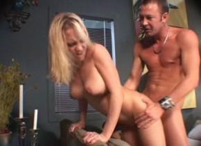 Incredible pornstar Becca Bratt in crazy cunnilingus, blonde xxx video Crotchless pantyhose porn