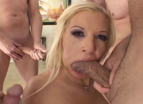 Fabulous pornstar Whitney Fears in crazy group sex, blowjob adult movie