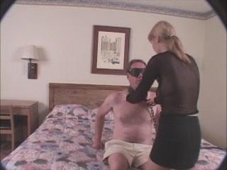 Angel Blindfolds Dude & Bonks Him