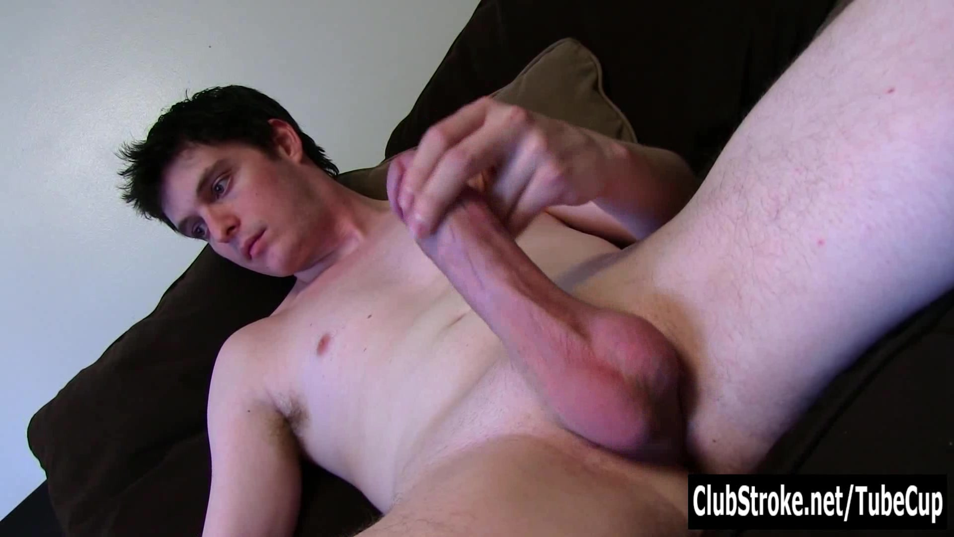 Sexual Straight Josh Masturbating Cock wide open wet pussies