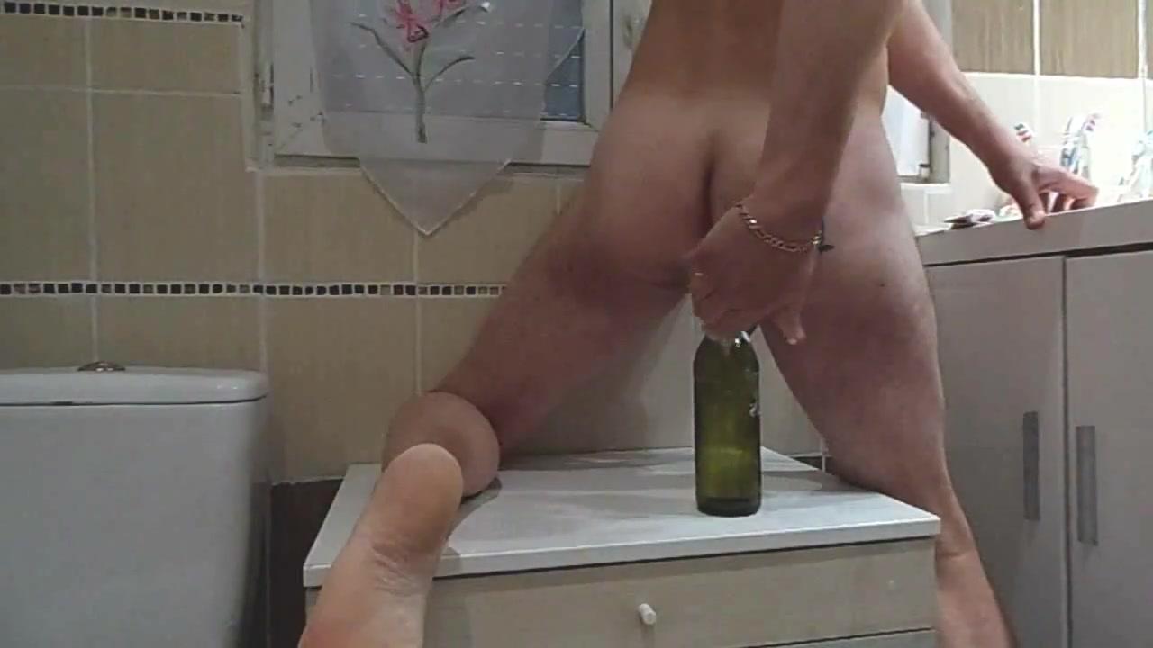 Anal insertion bottle tribute Jezz Ava addams wife