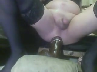 SISSY ANAL TRAINING FOR BBC Naked tied bed girl