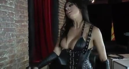 Mistress Pegging her slave Amedee vause - the interview clip2 deepthroat