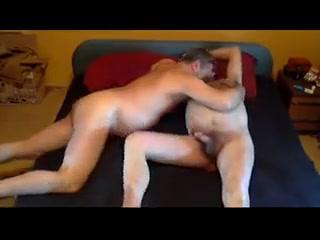 Bear daddy breeding lover in home Anal threesome bdsm