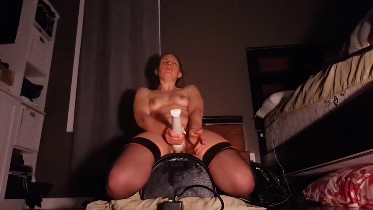 Amateur orgasms with sybian and wand Im dating a crazy girl