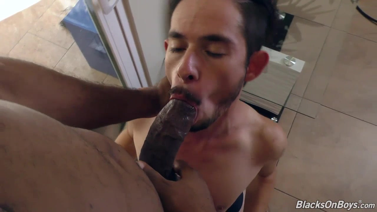 Slim white guy makes love with a huge cocked black man How to get snapchat nudes