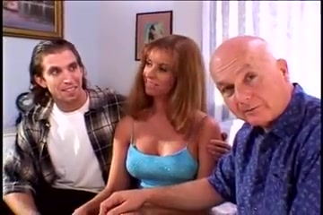 Sexy milf wife fucks ron and grandpa dave to fill her pussy Tiny nude korean girls