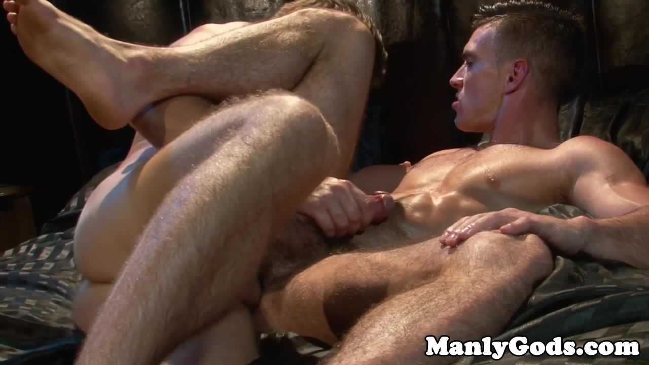 Muscled hunks flipfuck in bedroom hot mom threesome and cumshot