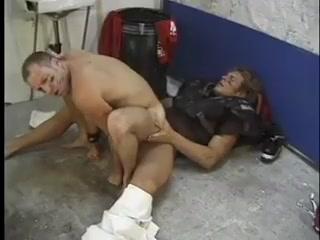 Football Players Making Love Hot tattoo anal fuck