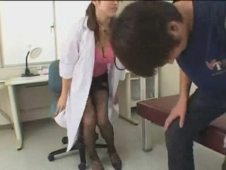 Japanese prostate exam! rene zellwinger in a bikini