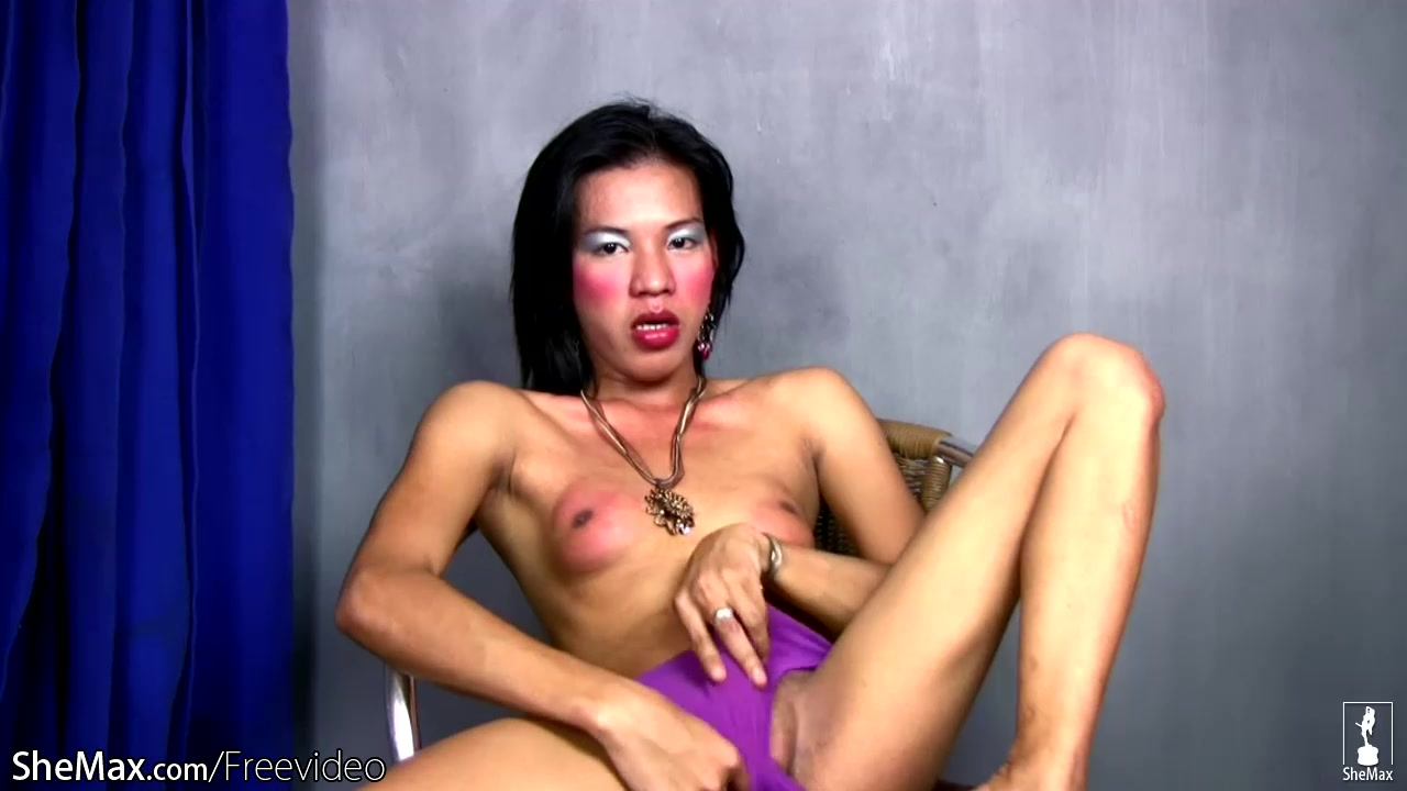 Filipino tranny teases her tight ass with sex toy and jerks Free clip fuck toni