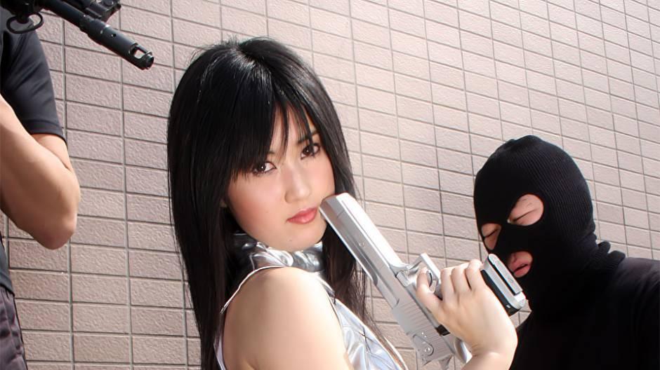 Aika & Shizuka Minami in Shizuka Minami in hardcore action - AviDolz