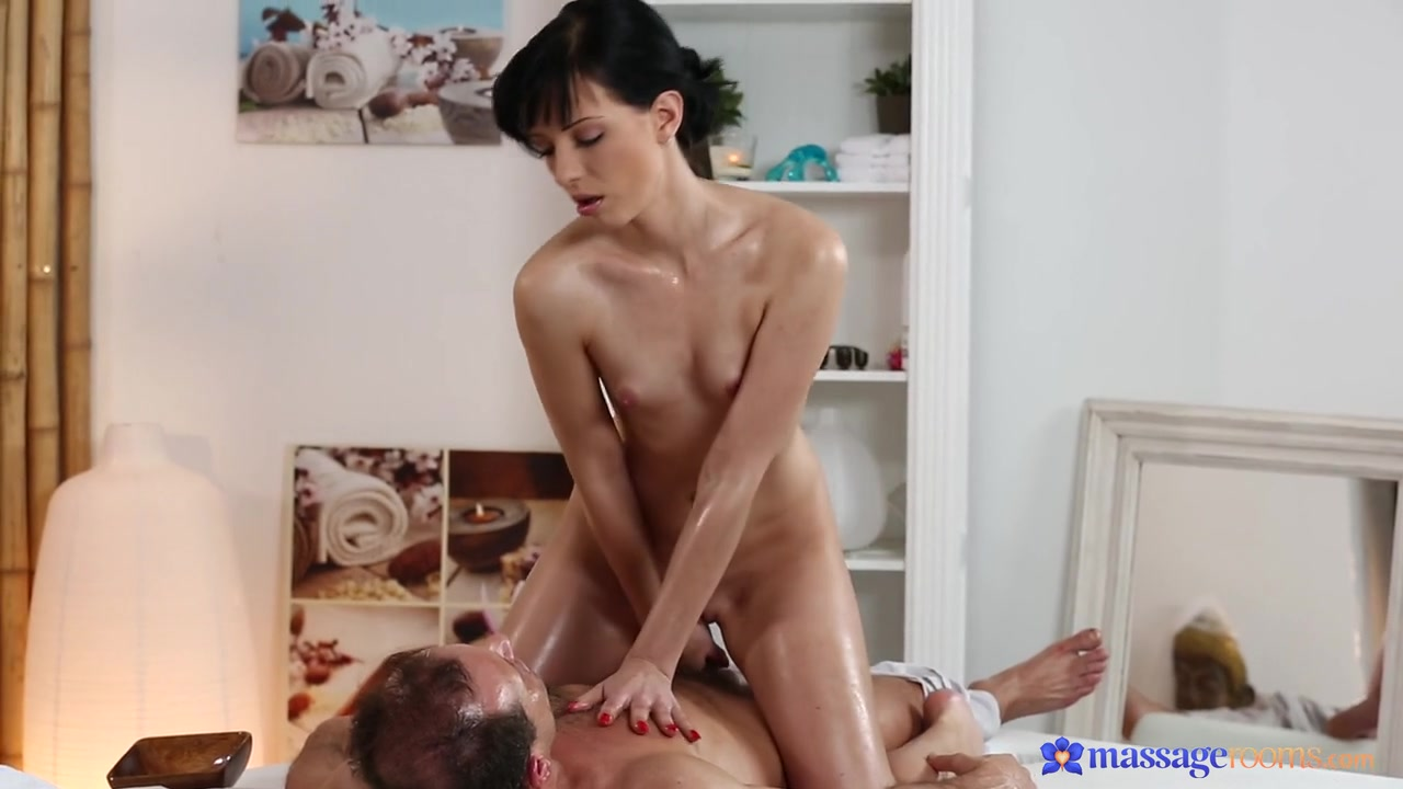 George & Katy in George On Katy - MassageRooms Foot fetish solo of an Asian doll