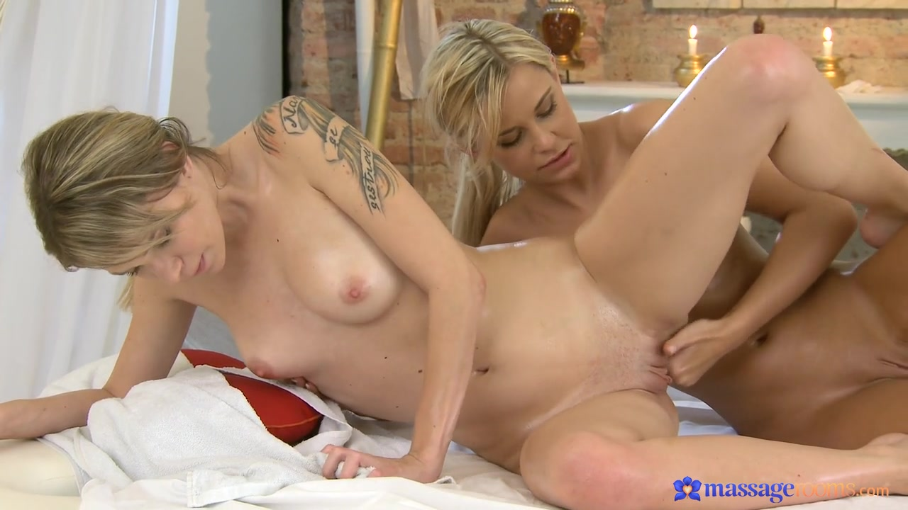 Angel & Lola in Lola On Angel - MassageRooms ebony close up sex