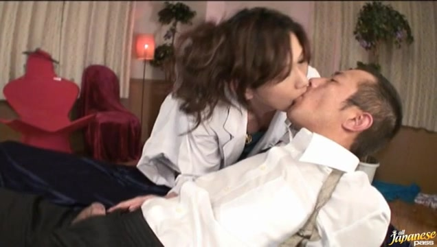 Asami Yoshikawa Pretty Japanese model rides a huge cock Seductive nudes