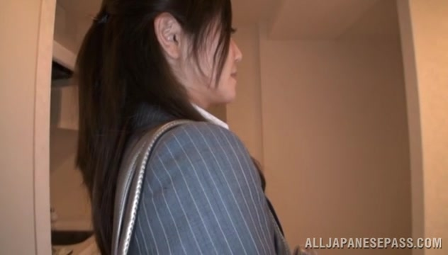 Minami Asano endures sex in doggy style position black girl impregnation porn