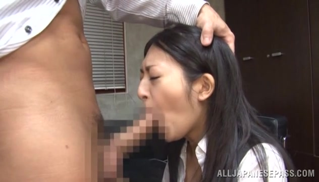MILF Sae Aihara Gets Boned From Behind At The Office Beutiful lesbian cougars