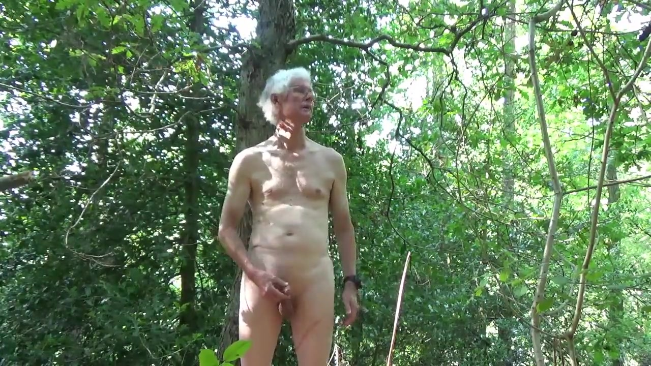 Back for another naked wank in the woods Mom Caught Me Masturbating