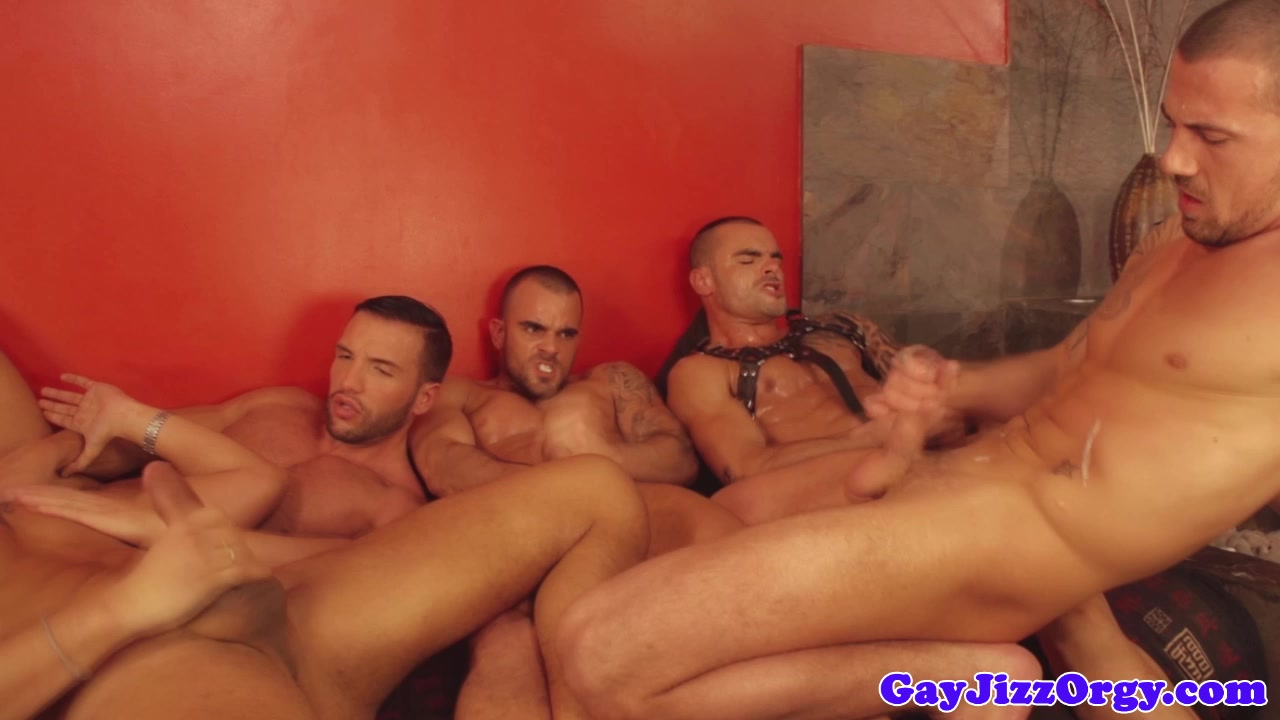 Gay orgy with loving hunks Infection in skin around anus