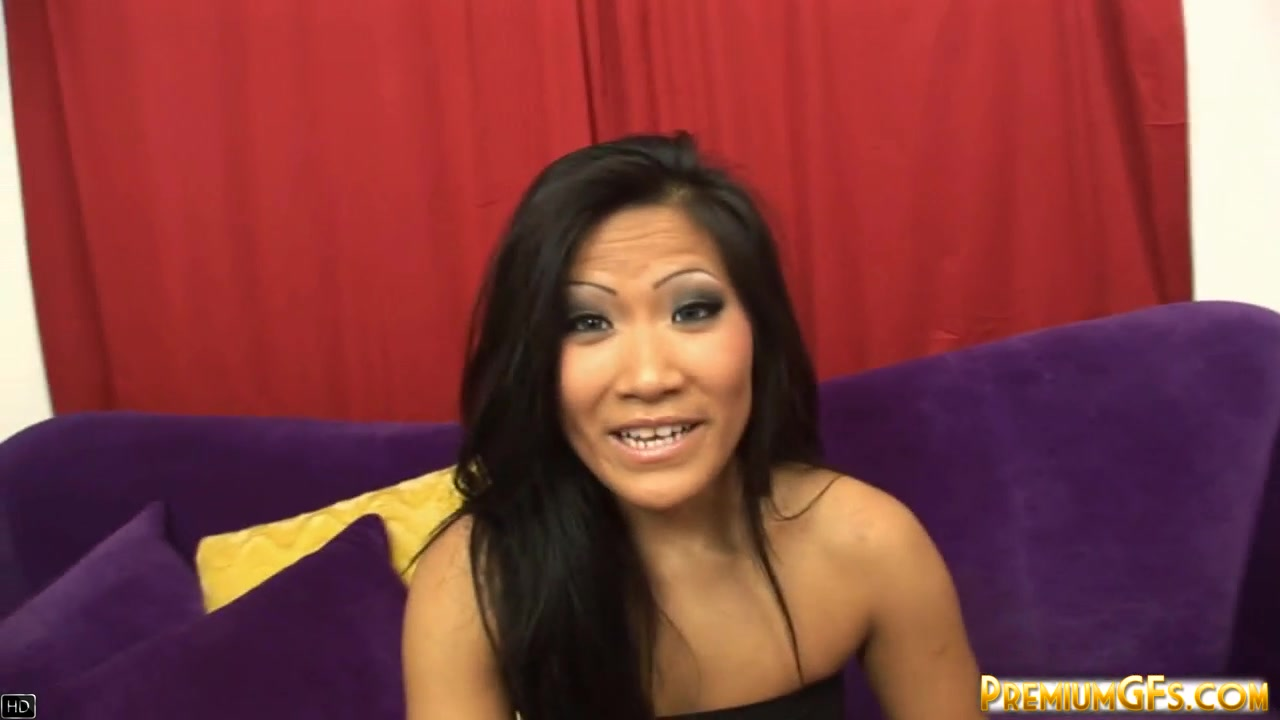 PremiumGFs Video: Christina Aguchi Teeny almost passes out while getting dicked hard