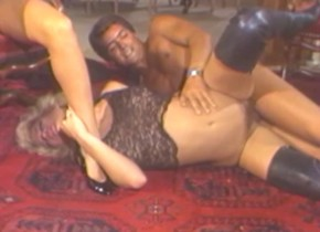 Amazing pornstar Sharon Mitchell in fabulous threesomes, vintage sex scene Milf nude legging