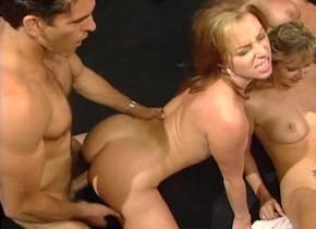 štvorka masáž porno