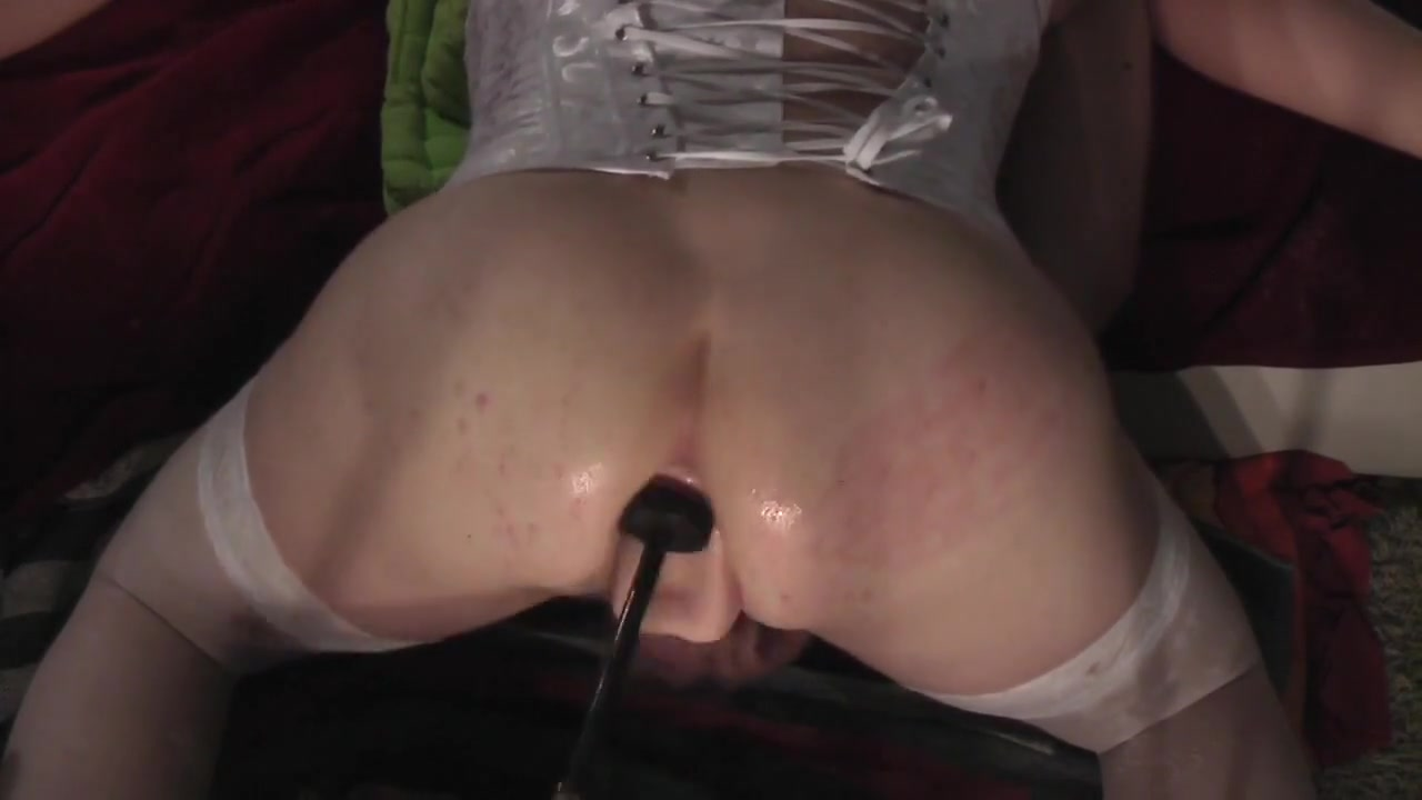 Anal blonde girl shemale tranny machine fuck Natural feeling breast implants