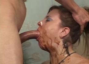 Horny pornstar Jessica DVine in exotic blowjob, milfs adult movie