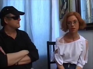 Nice-Looking redhead receives a hard booty pound russian mom and bois
