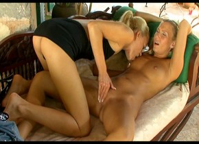 Best pornstars Keana Moire and Mary Jane in fabulous blonde, cunnilingus xxx movie woman in sexey boots