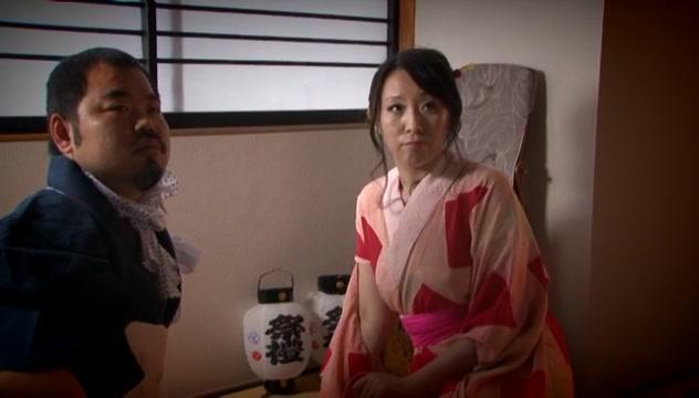 Wakako Yamada naughty Asian milf in amateur hardcore Sexy underwear for her