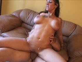 Crazy pornstar Anjelica Lauren in exotic cunnilingus, cumshots porn movie Leanna love pantyhose