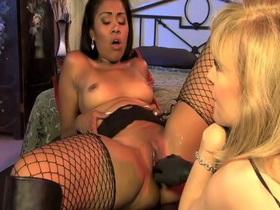 Crazy pornstars Yasmine de Leon and Nina Hartley in incredible stockings, small tits porn movie buffie the body sex tape xxx