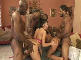 Fabulous pornstars Sandra Romain and Ricki White in hottest brunette, big butt xxx clip
