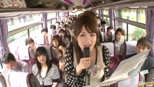 Crazy Asian girls have hot bus tour Bejun mehta wife sexual dysfunction