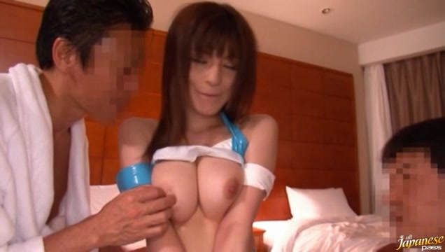 Rei Ganaha Hot Japanese Race queen Cock sucking moving picture