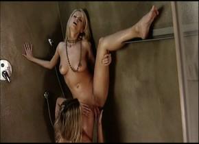 Fabulous pornstar Lilliane Tiger in incredible cunnilingus, blowjob adult clip