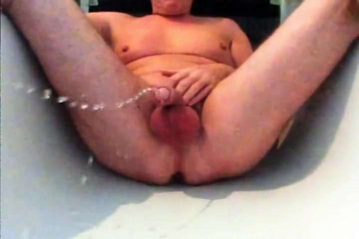 Wet Games in Bath Tube #1 Wild and lusty weenie licking with playgirl