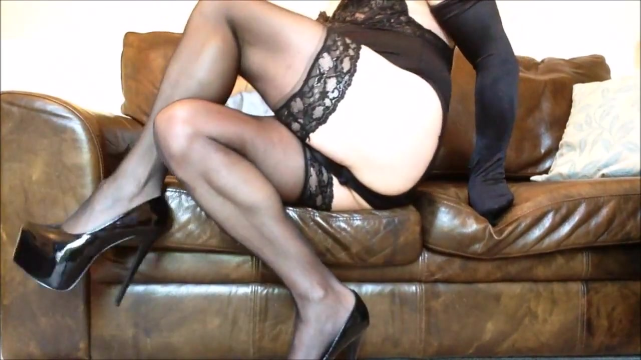 Lisa long legs in black nylons and heels (3) brother fucking sister stories