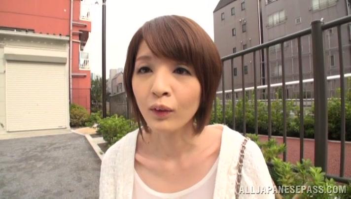 Yukina alluring Asian model enjoys fucking and toys