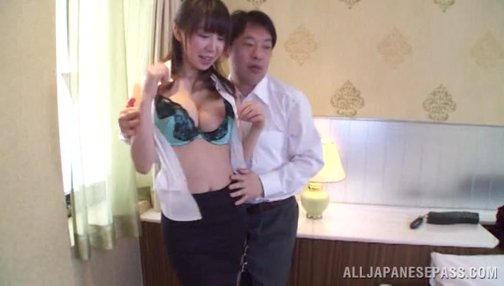Meisa Chibana is an Asian milf enjoying some doggy style Find female for threesome in nyc