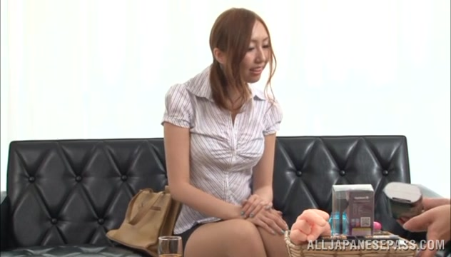 Japanese milf is horny and enjoys hot masturbation feet panties wifes feet panties free porn