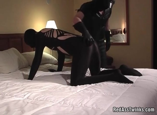 Kinky BDSM guy getting ass spanked on the bed cumshot collection danny d