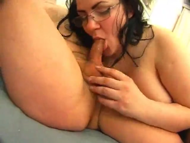 Russian Bbw - strange guy Homemade blowjob facial student revenge