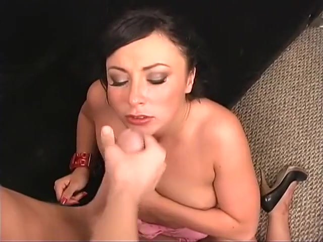 Exotic pornstar Bianca Dagger in horny blowjob, brunette porn video Anal wood insertion