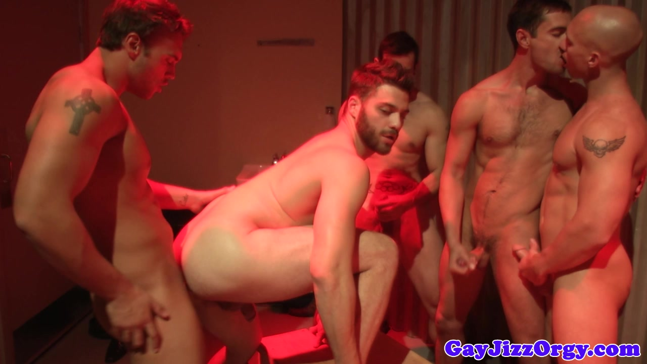 Beefy hunks having a gang fuck adult hentai game download