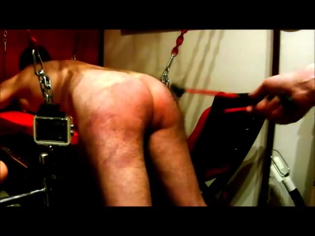 Spanking my slave Explosive Squirt Expels Anal Plug After DP with Veggies