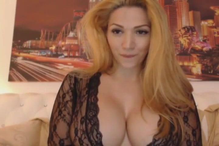 Gorgeous blonde big tits talks dirty.