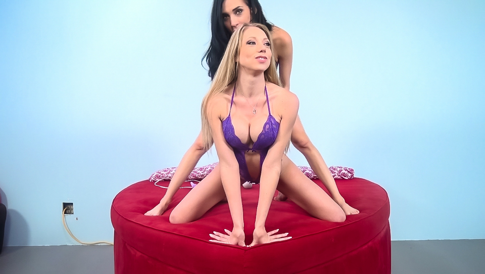 Shawna Lenee & Aiden Ashley in Naughty Babes - ImmoralLive Sex date night w friends video